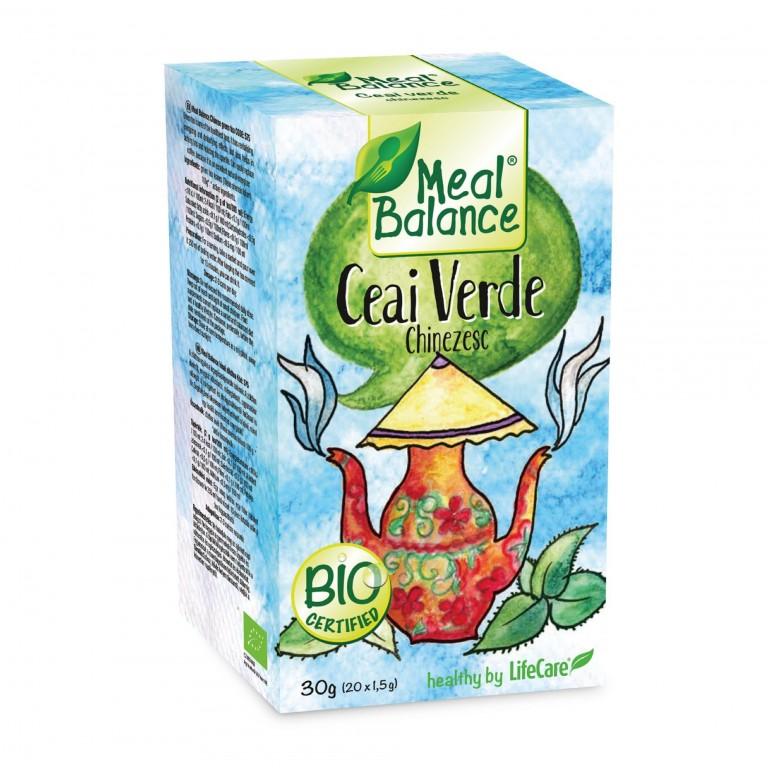 Meal Balance® kínai zöld tea - Life Care BIO
